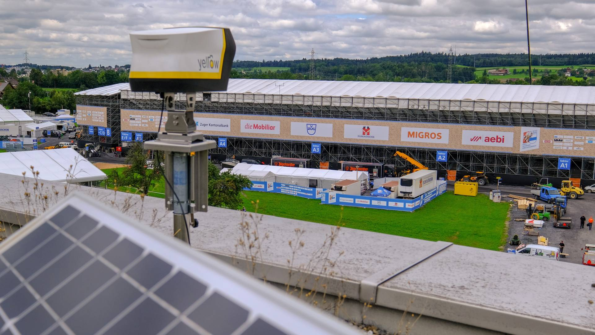 ESAF Webcam Solar powered